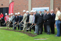 Scene from the Forever Dutch initiative's groundbreaking ceremony.