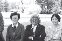 Central's 1981 English faculty included Jonathan Pierce, Mildred Steele, Maxine Huffman, Mary Stark and Jim Graham.