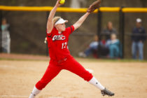 Karly Olson posted a 16-5 record and was voted the Iowa Conference softball pitcher of the year