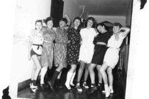 Left to right: Arlys, Barb, Vera, Lori, Jan, Darlene, Carolin