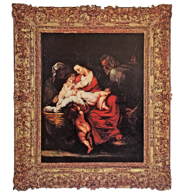 """""""The Holy Family"""" by Peter Paul Rubens (1577-1640)"""