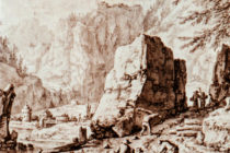 """Landscape"" by Herman Salftleven (1609-1685)"