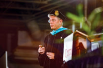 Commencement speaker Steven Van Wyk '81