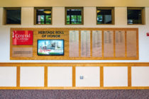 New interactive donor wall