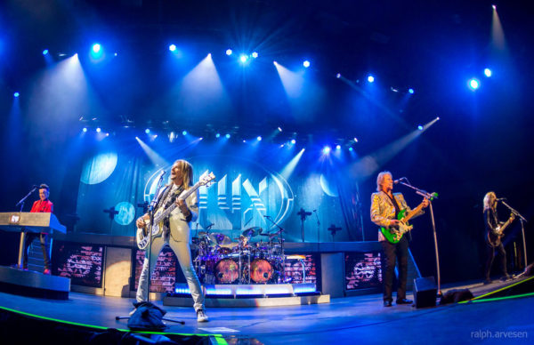 Styx performing in 2017.