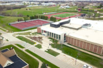 Aerial shot of Kuyper Athletics Complex