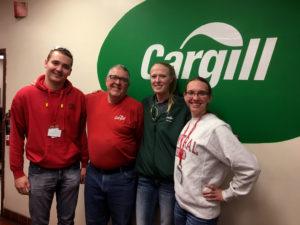 Career Kickstarter participants at Cargill