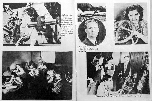 1945 admission brochure