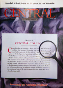 "Cover of 1994 ""Central Bulletin,"""