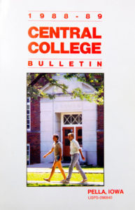 """Central Bulletin"" edition published in 1989"