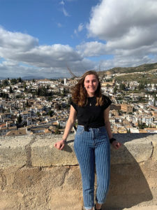 Rylie Conway '21 was studying in Spain when the coronavirus hit and brought her and her fellow study abroad students back to the United States in March.