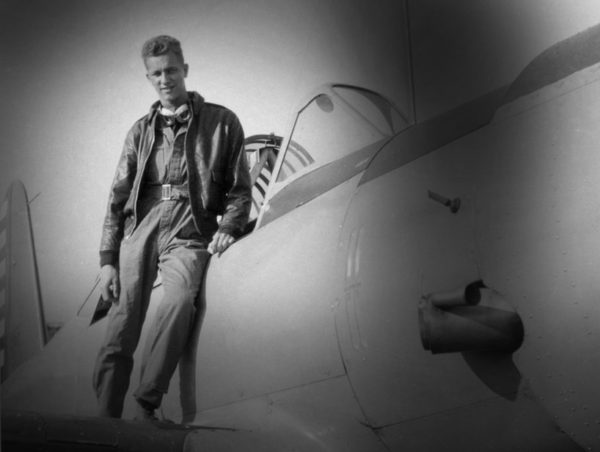 Lt. Walter J. McCain '42 was killed when the bomber he was piloting was attacked, caught fire and crashed in Germany.