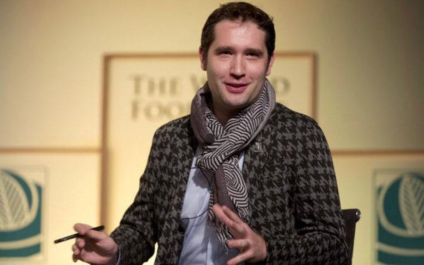 Bram Govaerts, winner of the 2014 World Food Prize