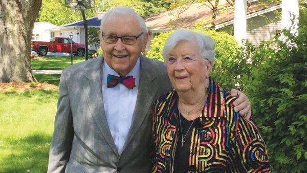 Rev. Edwin '51 and Luella Rozeboom Mulder '51