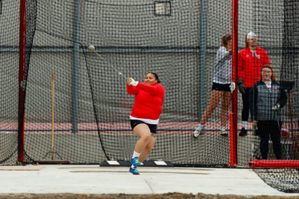 Yana Rouse '21 makes an all-America impact on her track teammates at Central: Her leadership and positive attitude inspires and encourages others to give their best.