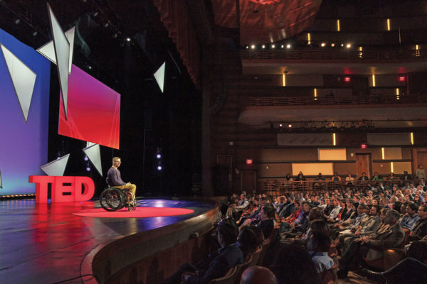 Twelve minutes on the Ted Talks red dot: More than 3 million people (and counting) have viewed Dean Furness' presentation on overcoming challenges. It was among the 20 most popular Ted Talks of 2020.